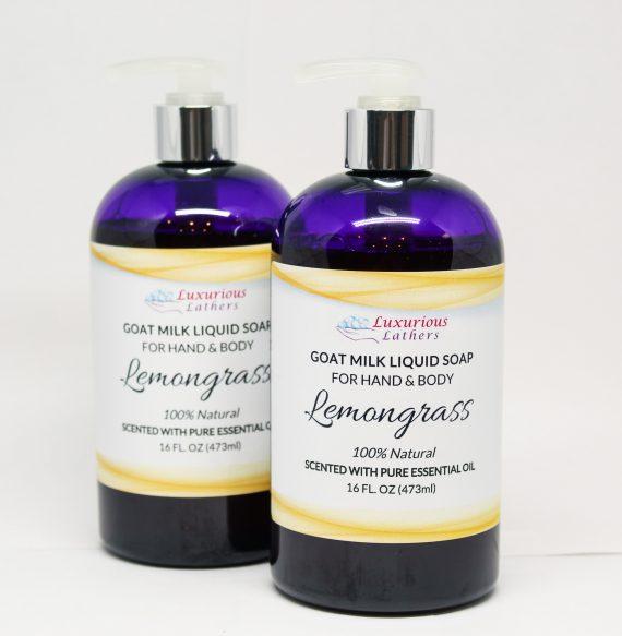 Lemongrass Goat Milk Liquid Soap