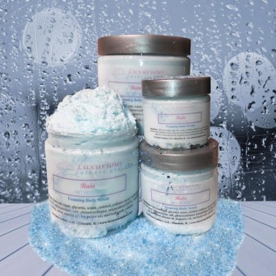 Rain Foaming Body Scrub