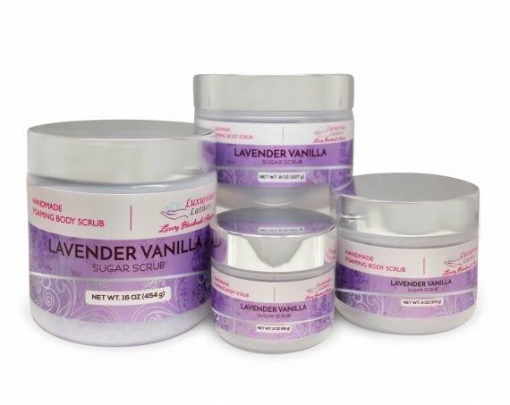 Lavender Vanilla Exfoliating Body Scrub