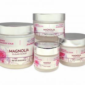 Magnolia Foaming Sugar Scrub