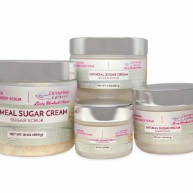 Oatmeal Sugar Cream Foaming Body Scrub