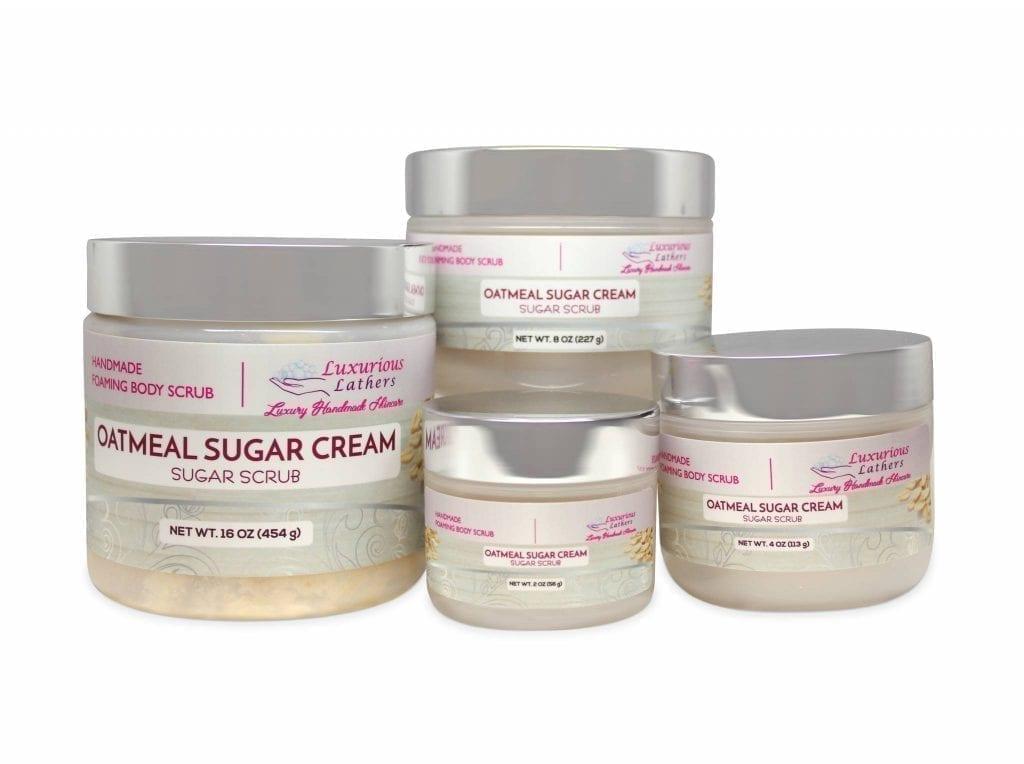 Oatmeal Sugar Cream Body Scrub