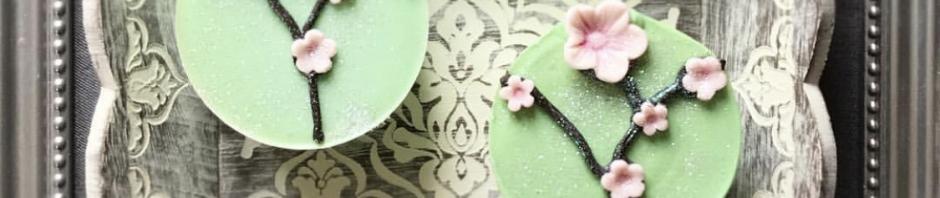 Japanese Garden Mini Cupcake Soaps
