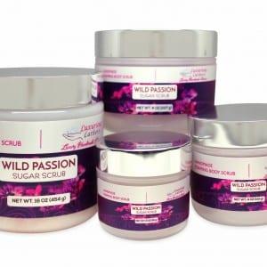 Wild Passion Foaming Body Scrub