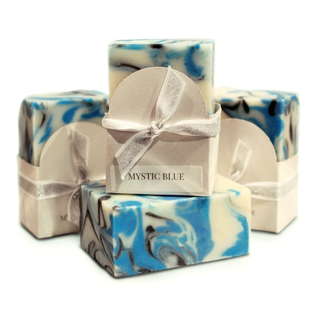 Mystic Blue Vegan Soap