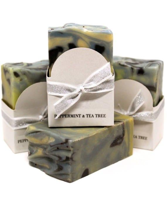 Peppermint & Tea Tree Goat Milk Soap