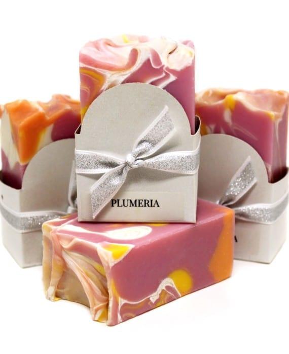 Plumeria Vegan Soap