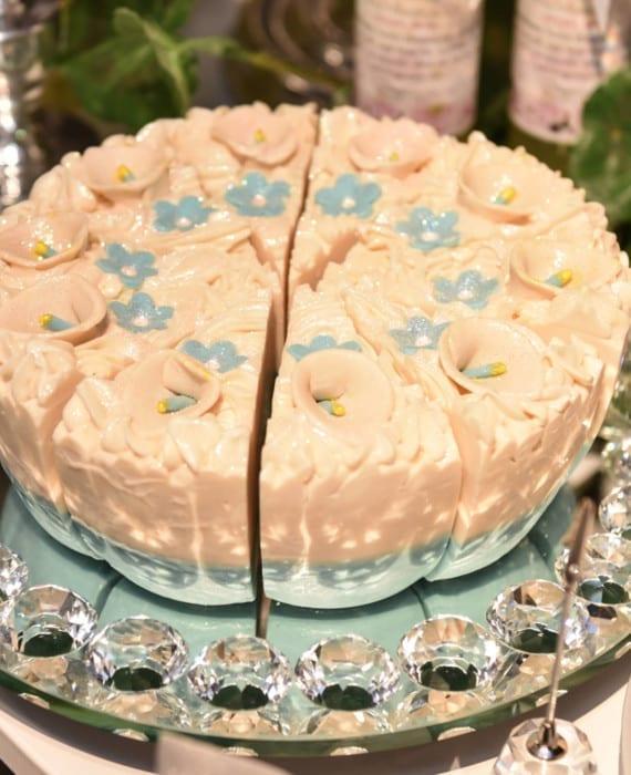Calla Lily Soap Cake