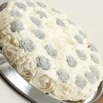 Silver Rose Soap Cake