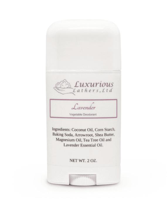 Lavender Vegetable Deodorant