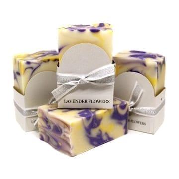Lavender Flowers Vegan Soap