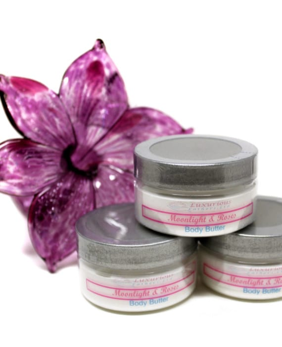 MOONLIGHT & ROSES MOISTURIZING BODY BUTTER