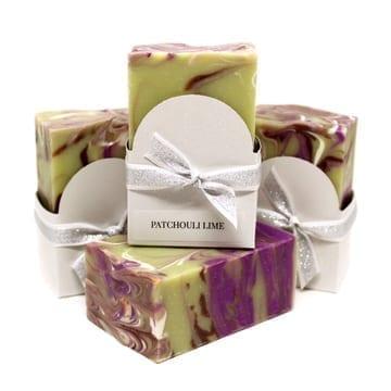 Patchouli Lime Vegan Soap