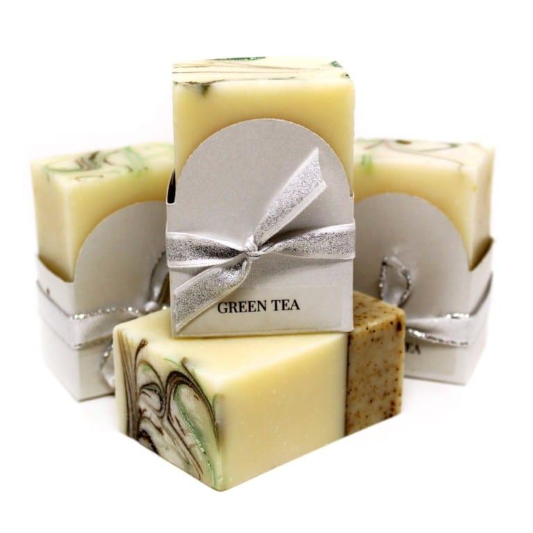 Green Tea Vegan Soap