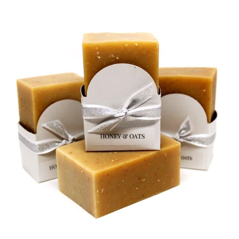 Honey & Oat Goat Milk Soap