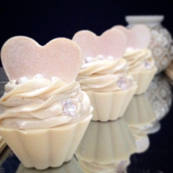 Beautiful Bride Soap Cupcake