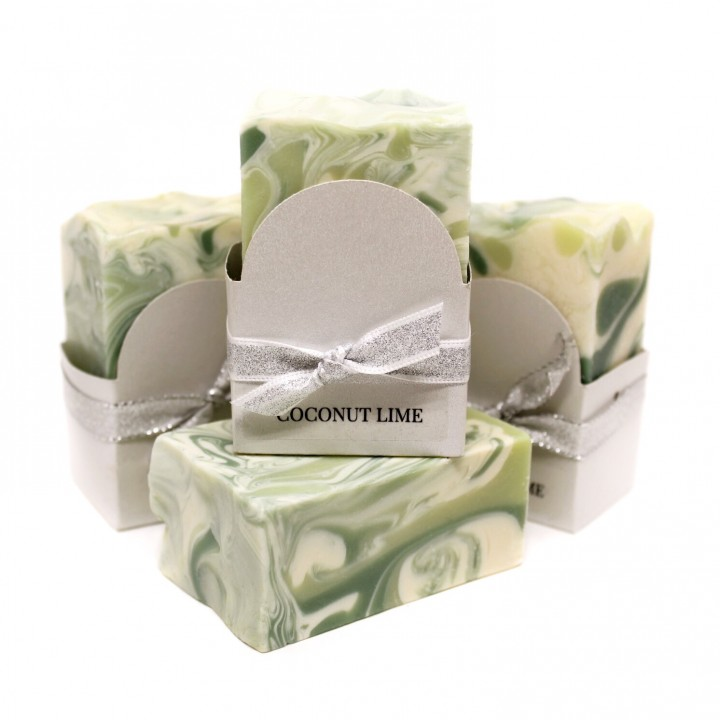 Coconut Lime Vegan Soap