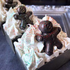 Mr. Gingerbread Man Soap
