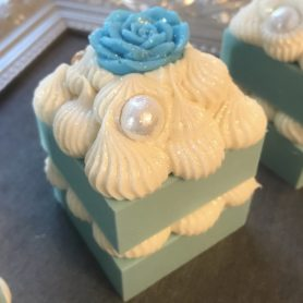 Tiffany Mini Square Cake Soap