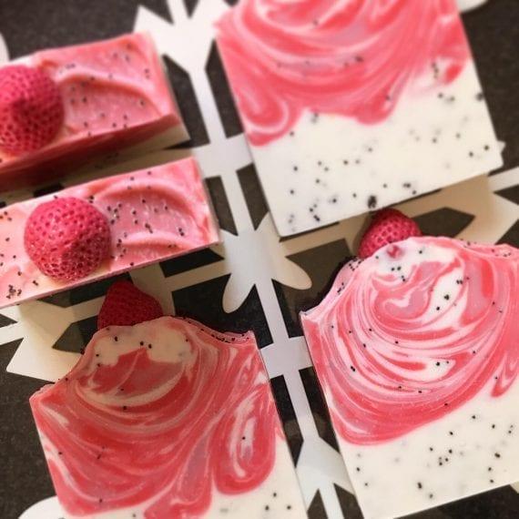 Strawberry Poppyseed Soap