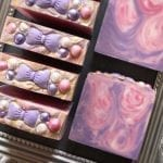 Pink & Purple Glitz Soap