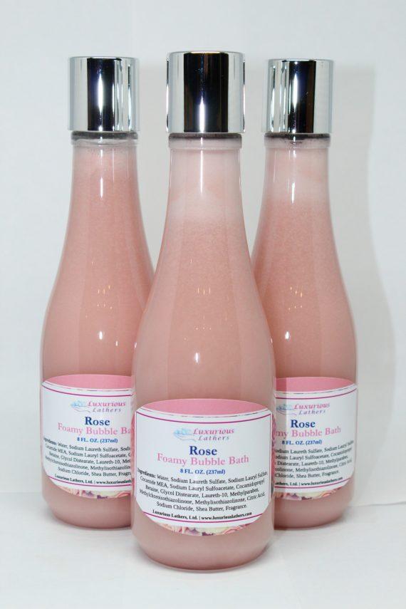 Rose Foamy Bubble Bath